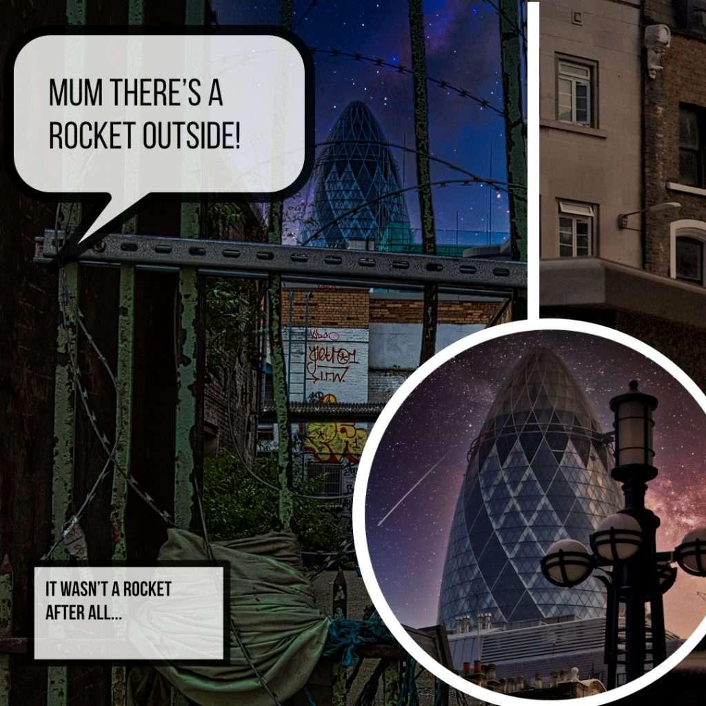 rocket gherkin