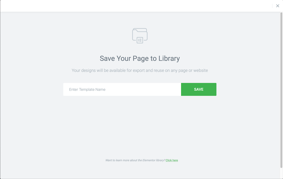save page to library