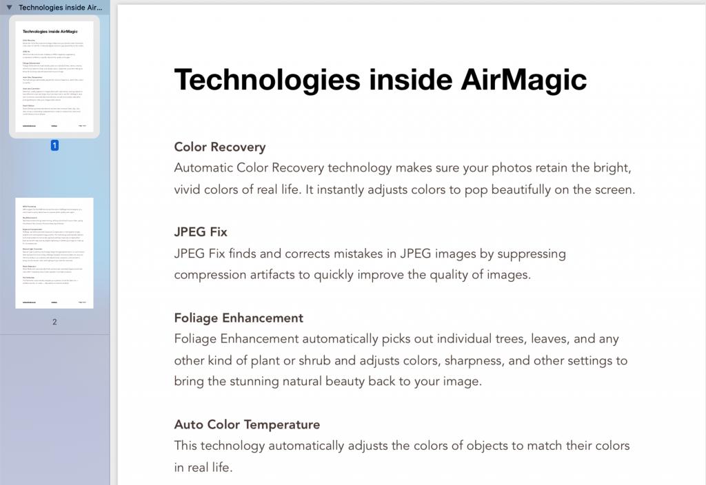 tech inside airmagic