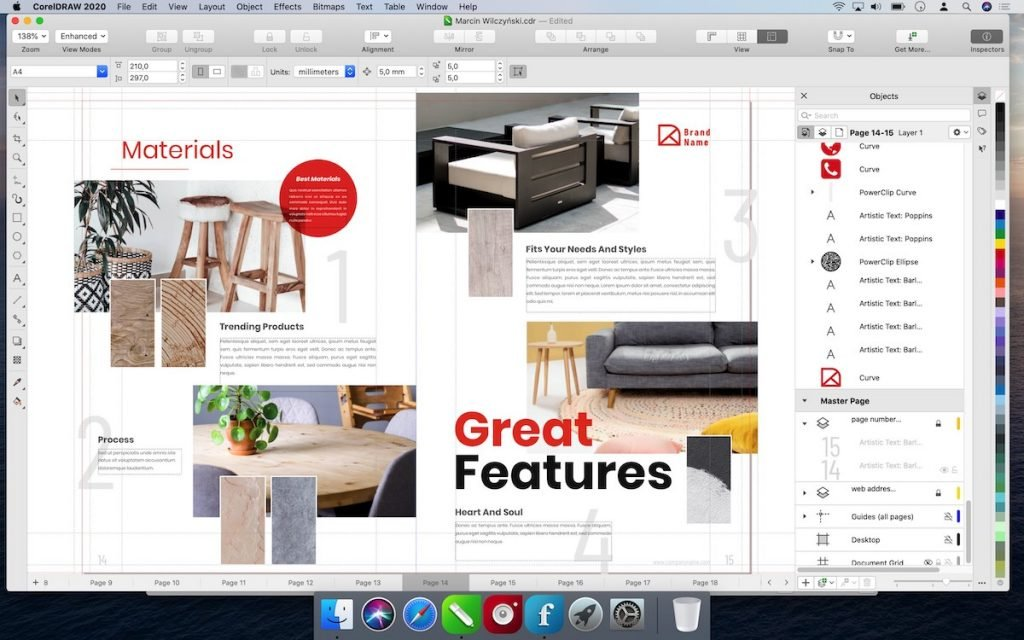 CorelDRAW Graphics Suite 2020 has the versatility to satisfy any creative needs.