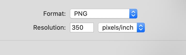 png file at 350dpi