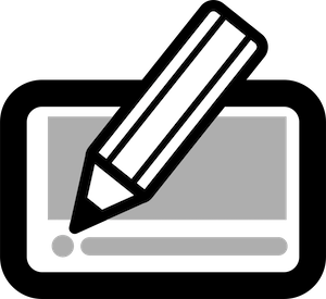page design pencil icon 300