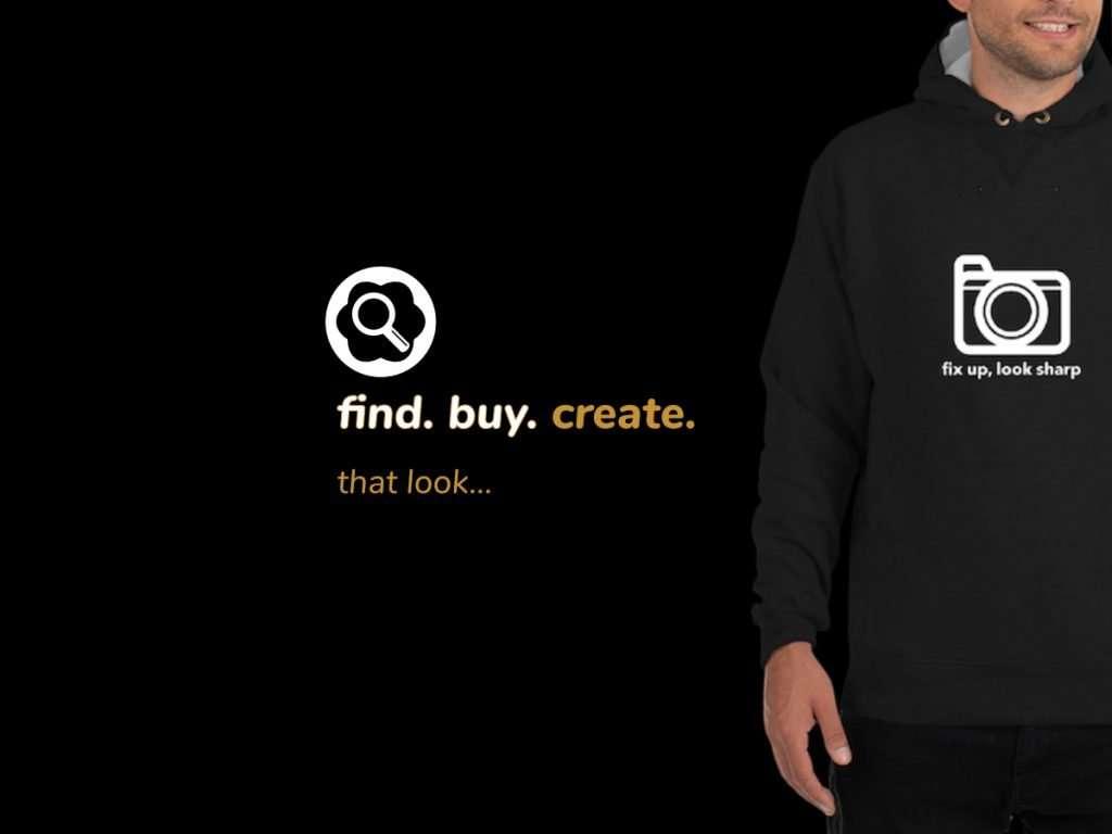 find buy create that look dmfinder ad