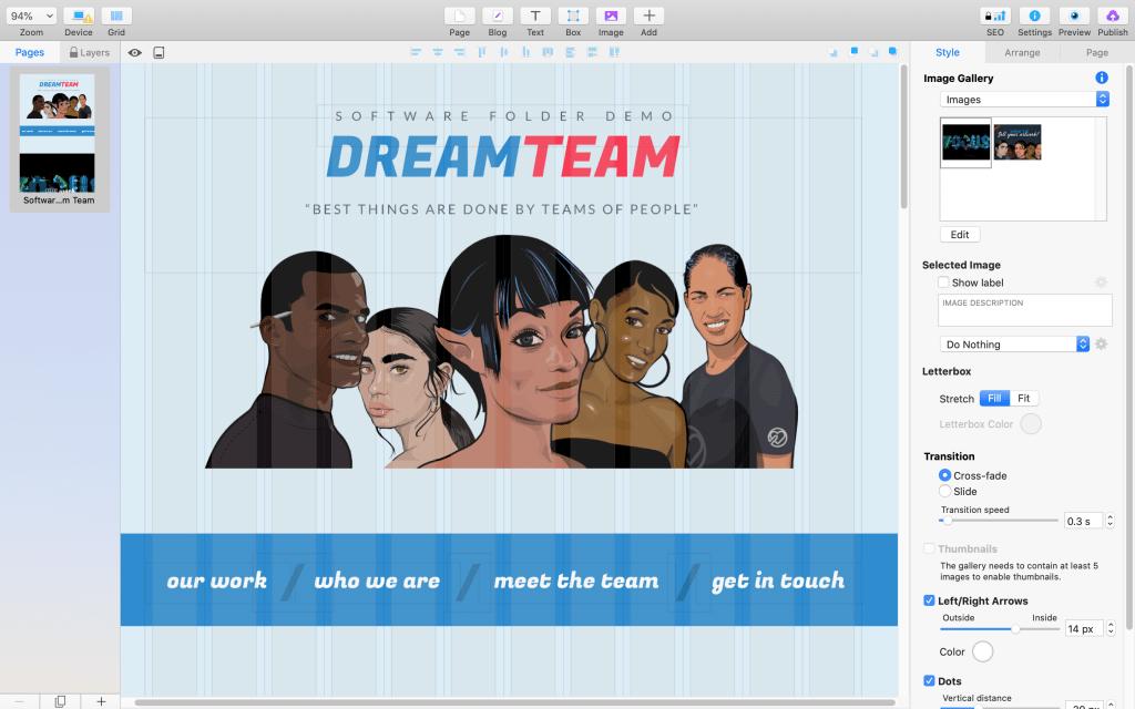 dream team sf