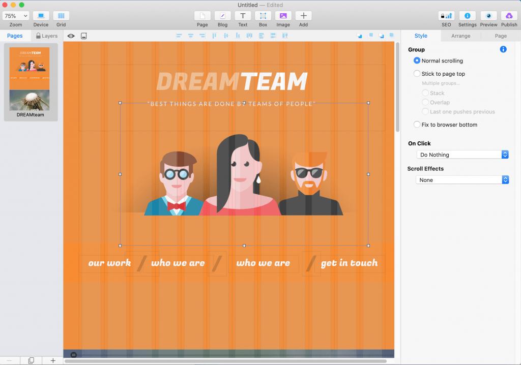 sparkle dream team