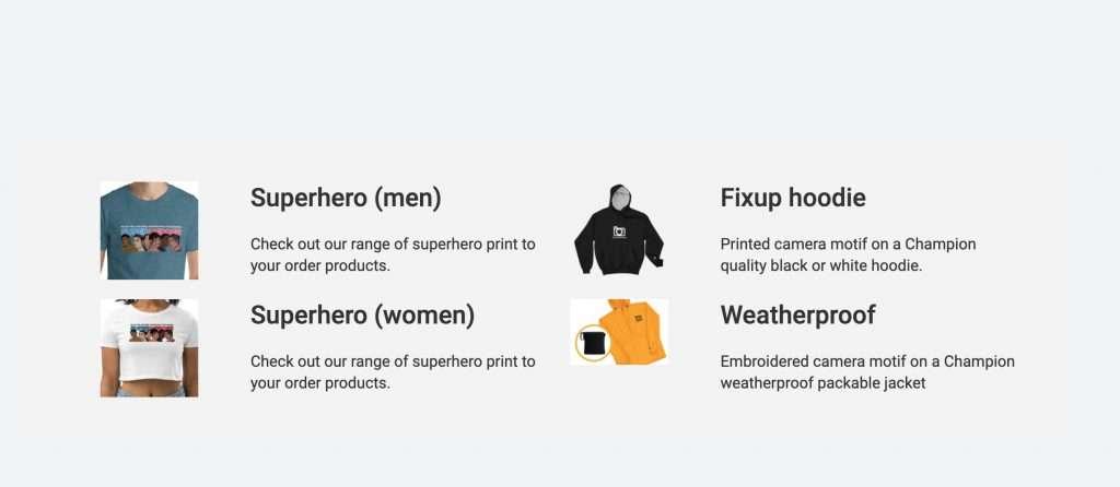 now wear it webflow version