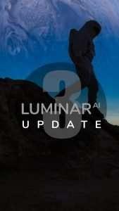 Luminar AI 3 web story