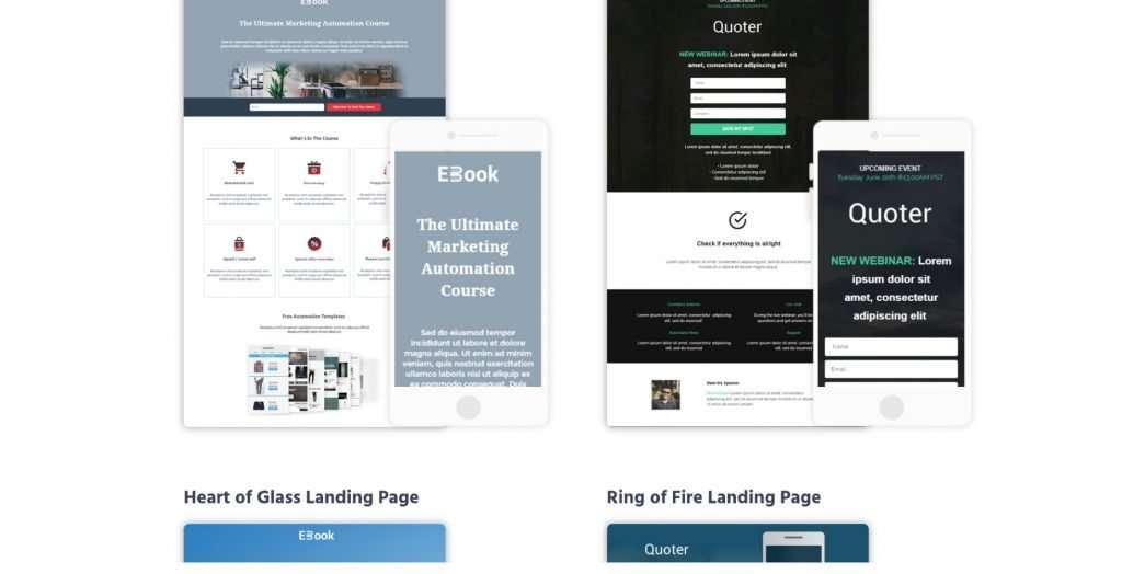 moosend-landing-page-templates