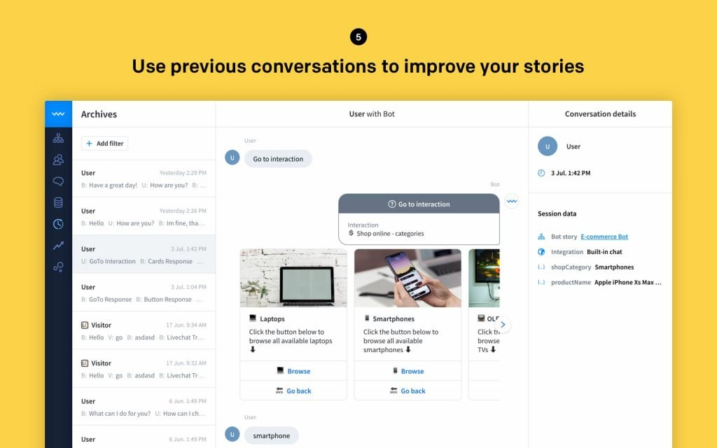 screenshots chatbot conversations 1600x1000@2x