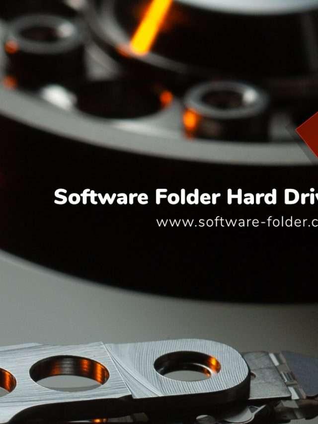 Software Folder Hard Drive Tips
