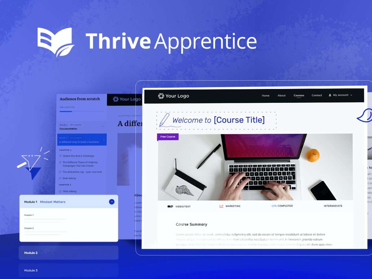 Thrive Apprentice Course Builder