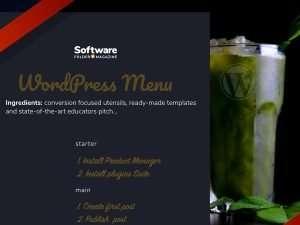 wordpress-menu-smoothie-special