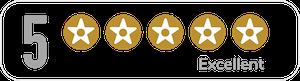5 stars 300