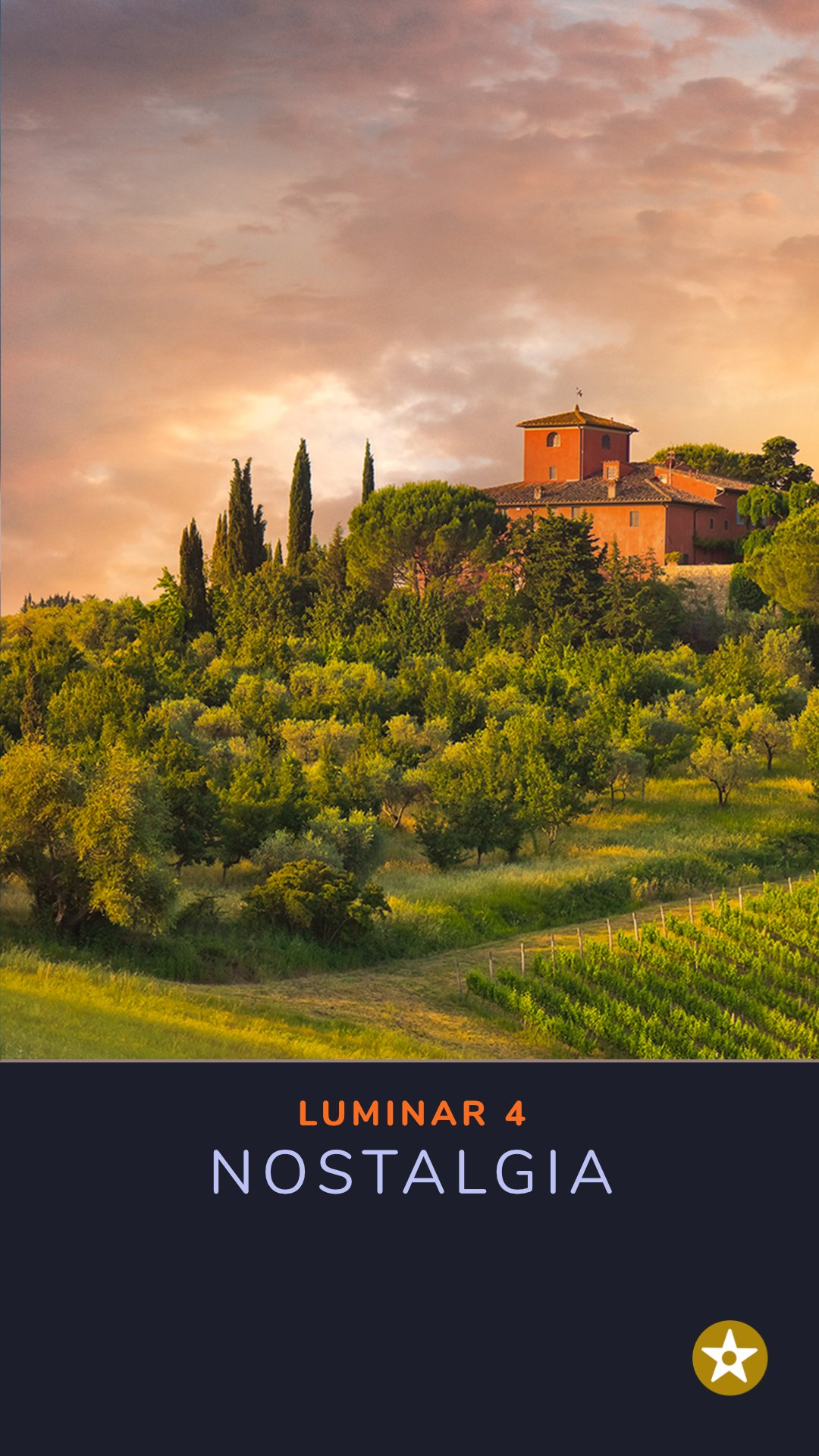 Tuscany Portrait Sky Replacement luminar-1
