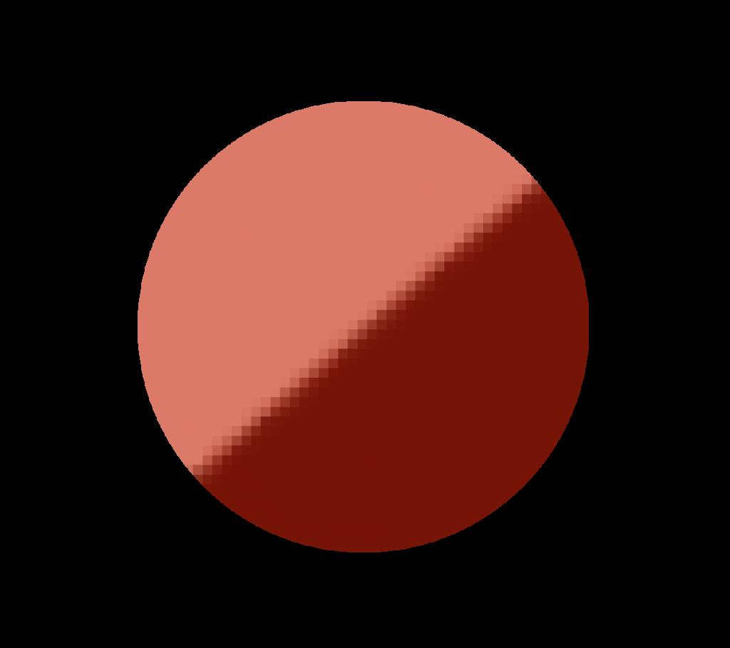 pixelated raster image