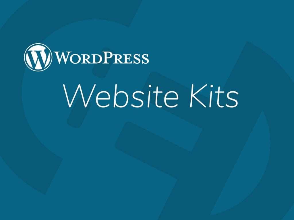 WordPres Website Kits