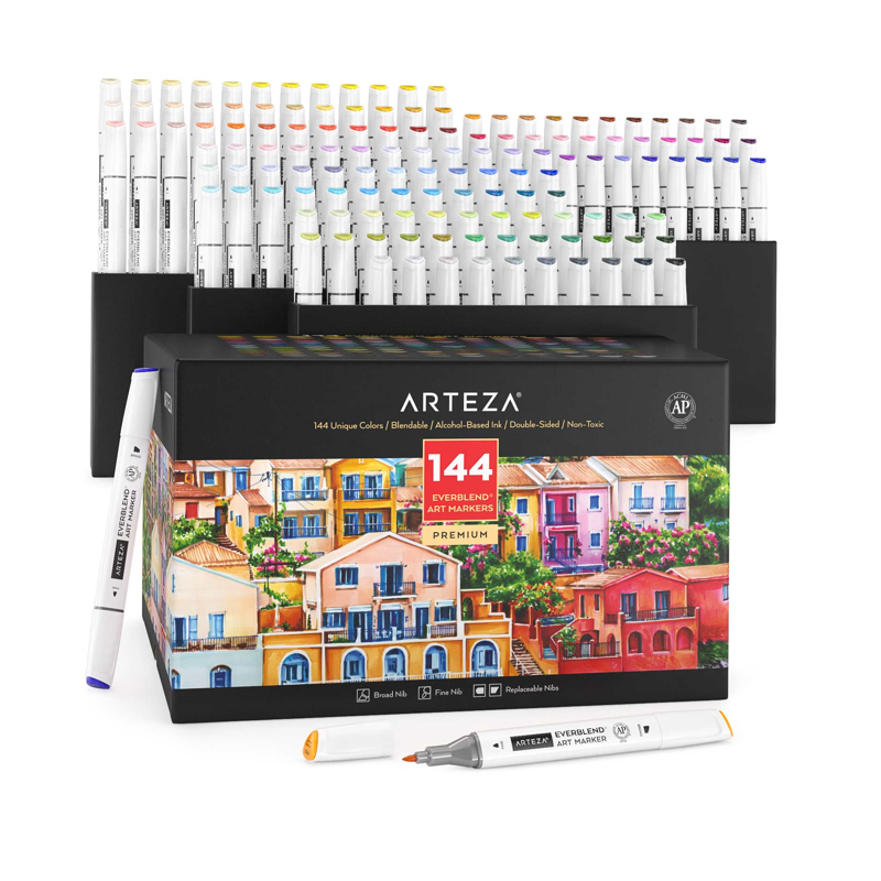 everblend ultra art markers set of 144png